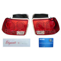 1999-2004 Mustang TYC Red Altezza Euro Tail Lights
