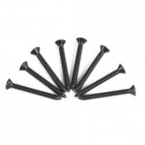 1979-1993 Ford Mustang Sill Step Plate Screws ; Replacement Hardware, Set of 8