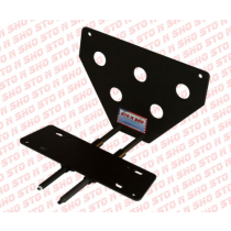 2005-2009 Mustang GT & V6 STO-N-SHO Removable Take Off Front License Plate Br...