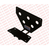 2010-12 Mustang Roush Stage 3 RS3 STO-N-SHO Removable Front License Plate Bra...