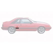 1985-1986 Ford Mustang LX Right RH Front of Quarter Body Moulding Molding
