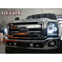 Recon Accessories 264272BKCC Headlight Assembly [Automotive]