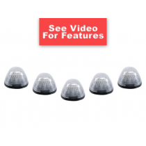 1999-14 Ford SuperDuty Strobe Flashing Clear Cab Roof Lights - Tow Trucks & More