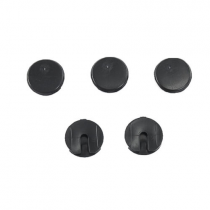 1979-1993 Ford Mustang Coupe Rear Lower Window Moulding Button Clips; 5pc. Re...