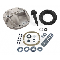 """1986-2014 Mustang 8.8"""" 3.73 Ring & Pinion Rear Axle Girdle Cover & Install Kit"""