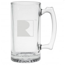 Mustang RS1 RS2 RS3 F150 Roush Heavy Large Drinking Beer Glass Mug Stein 25oz