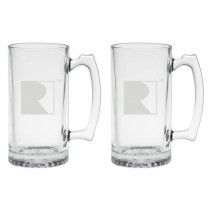 Mustang RS1 RS2 RS3 F150 Roush Heavy Large Drinking Beer Glasses 25oz
