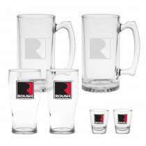 Roush Mug, Pint & Shot Glasses Drinking Glassware Bar Gift Set