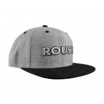 Roush Ford Mustang F150 Embroidered Black & Grey Wool Flat Bill Adjustable Hat Cap