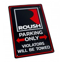 "Mustang F150 Roush Parking Only 12"" x 18"" Metal Garage Street Sign"
