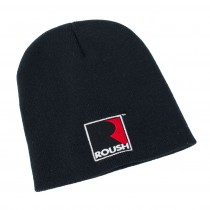 Roush Performance Embroidered Logo Black Beanie Hat