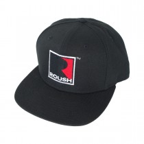 Roush Performance Embroidered R Logo Black Flatt BIll Hat Cap