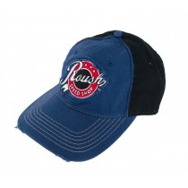 Roush Performance Speed Shop Blue & Black Distressed Adjustable Hat Cap
