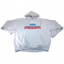 Ford Power Stroke Diesel Gray Adult Hoodie Hoody Sweatshirt