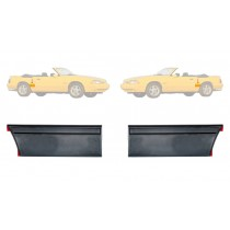 1987-1993 Mustang LX back of Quarter Body Molding Mouldings (Pair)