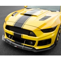 2015-2017 Ford Mustang Roush RS1 RS2 RS3 APR Carbon Fiber Front Bumper Lower Chin Splitter