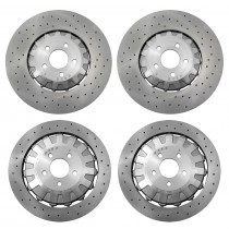 2016-2019 Mustang Shelby GT-350 GT350 Genuine Ford Front & Rear Brake Rotors 4pc