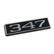 347 Ford Mustang Black Chrome Plated Engine Hood Scoop Emblem