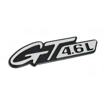 1996-1998 Mustang GT 4.6L Chrome Fender Side Emblem
