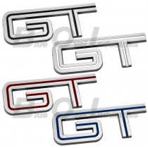 2005-2010 Mustang GT Chrome Fender Trunk Lid Emblem - Choice of Color