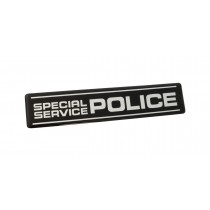 Ford Mustang Special Service Police Flexible Trunk Fender Emblem 4.5 x 1