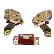 1984-1993 Mustang GT LX or Cobra 5.0 V8 Poly Motor Engine Tranny Mounts 3pc set