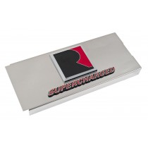 2010-2014 Mustang Roush RS1 RS2 RS3 Polished Stainless Fuse Box Cover w/ Emblems