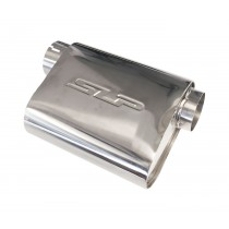 "SLP PowerFlo Stainless Steel 3"" Performance Exhaust Welded Muffler"