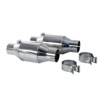 "1986-2010 Ford Mustang 2.5"" PYPES High Flow Cats Catalytic Converters Pair"