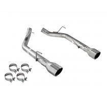 2005-2010 Mustang GT PYPES Muffler Delete Axle Back Kit Polished Stainless Steel