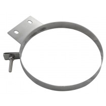 Pypes Diesel Stainless Steel Stack Clamp - Polished