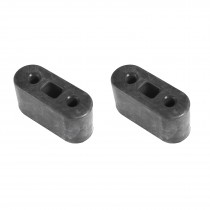 1986-2004 Mustang LX GT Cobra 5.0 4.6 Exhaust Hanger Rubber Insulators - Pair