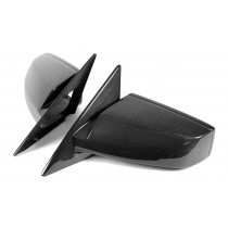 2005-2009 Mustang Real Carbon Fiber Mirror Covers & Lenses