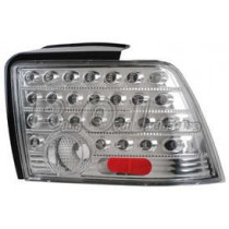 1999-2004 Mustang LED Tail Light Set - Crystal