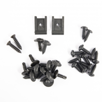 1979-1986 Ford Mustang Center Console Installation Screw Kit ; 28pc. Replacem...