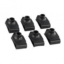 1986-1993 Mustang Inner Fender Nuts 6pc - Allows Interior Bolts to Thread On