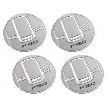 "2010-2014 Ford Raptor Stainless Steel A/C Vent Trim Covers w/ ""F-150"" Lettering"