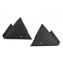 1987-1993 Mustang GT LX or Cobra interior Power Mirror Mount Covers Left & Right