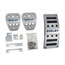 2015-2019 Ford Mustang Shelby GT350 Billet Aluminum Gas Brake Clutch Pedal Covers