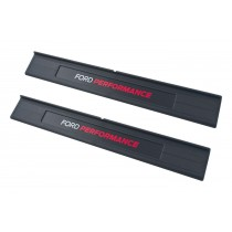 2015-2021 Mustang Ford Performance Inside Lower Door Sill Step Plates Pair
