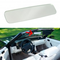 1988-1993 Ford Mustang Convertible Inside Rear View Mirror Glass
