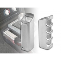 2005-2009 Mustang Brushed Satin Aluminum Billet Emergency E Brake Handle Cover