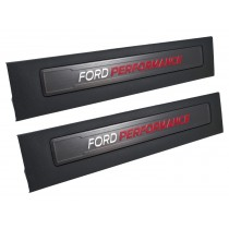 2015-2017 F-150 Ford Performance Bottom Door Jam Step Sill Plates Pair