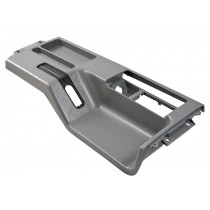 1987-1993 Mustang Interior Center Top Console in gray (without Power Mirrors)