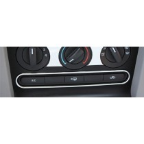 2005-09 Mustang Chrome Center Bottom Dash A/C Defrost Button Highlight Surround