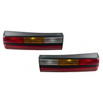 1984 Mustang SVO Black OEM Complete Taillights Tail Lights Housings LH RH