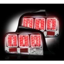 2005-2009 Mustang Clear LED Tail Lights