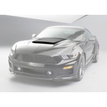 2015-2017 Ford Mustang Roush ABS Hood Scoop Unpainted Primed 421858