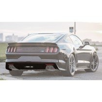 2015-2017 Mustang Coupe & Convertible Roush Rear Fascia Valance 421894 - Molded Black