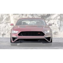 2018-2021 Mustang Roush Front Upper & Lower Grille w/ Chin Spoiler 7pc Fascia Kit